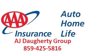 AJ Daugherty Group AAA insurance logo