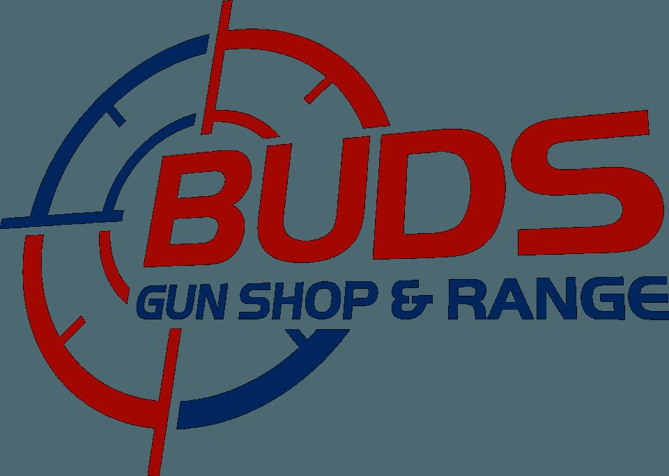 Bud's Gun Shop and Range logo