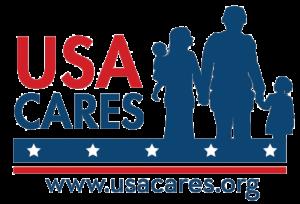 USA Cares logo (www.usacares.org)